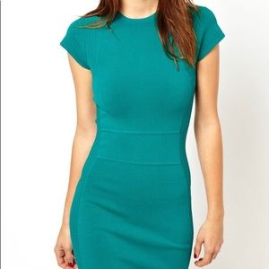 Bnwt French connection teal dress size 2